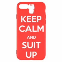 Чехол для iPhone SE 2020 Keep Calm and suit up!