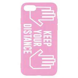 Чохол для iPhone SE 2020 Keep your distance