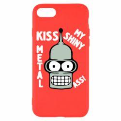 Чехол для iPhone SE 2020 Kiss metal