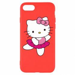Чехол для iPhone SE 2020 Kitty балярина