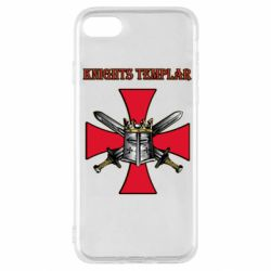 Чохол для iPhone SE 2020 Knights templar helmet and swords