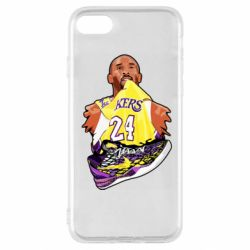 Чехол для iPhone SE 2020 Kobe Bryant and sneakers