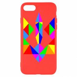 Чехол для iPhone SE 2020 Кольоровий герб