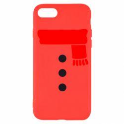 Чохол для iPhone SE 2020 Костюм сніговика
