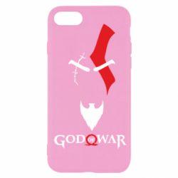 Чехол для iPhone SE 2020 Kratos - God of war