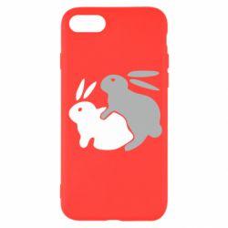 Чохол для iPhone SE 2020 Кролики