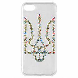 Чехол для iPhone SE 2020 Квітучий герб України