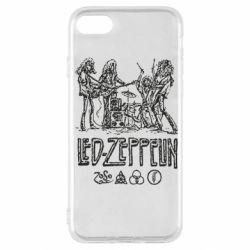 Чехол для iPhone SE 2020 Led-Zeppelin Art