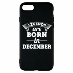 Чехол для iPhone SE 2020 Legends are born in December