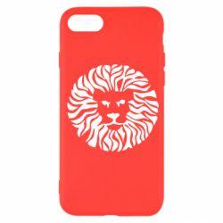 Чехол для iPhone SE 2020 лев