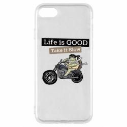 Чохол для iPhone SE 2020 Life is good, take it show