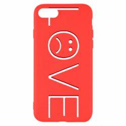Чохол для iPhone SE 2020 lil peep: love