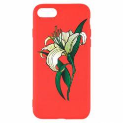 Чохол для iPhone SE 2020 Lily flower