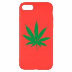 Чохол для iPhone SE 2020 Листочок марихуани