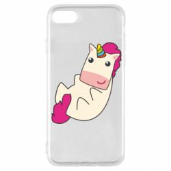 Чехол для iPhone SE 2020 Little cute unicorn