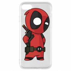 Чохол для iPhone SE 2020 Little Deadpool
