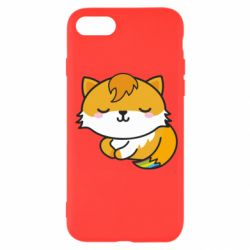 Чехол для iPhone SE 2020 Little fox with tail