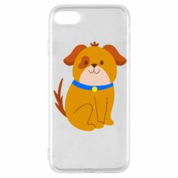 Чехол для iPhone SE 2020 Little funny dog