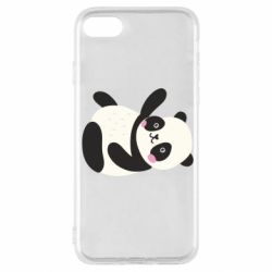 Чехол для iPhone SE 2020 Little panda