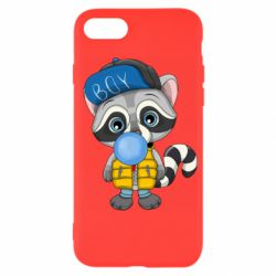 Чехол для iPhone SE 2020 Little raccoon