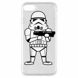 Чохол для iPhone SE 2020 Little Stormtrooper