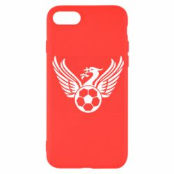 Чехол для iPhone SE 2020 Liverpool and soccer ball