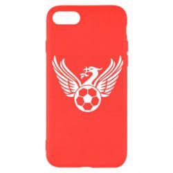 Чохол для iPhone SE 2020 Liverpool and soccer ball