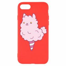 Чехол для iPhone SE 2020 Llama Ice Cream