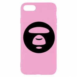 Чехол для iPhone SE 2020 Logo Bape Monkey