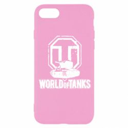 Чохол для iPhone SE 2020 Логотип World Of Tanks