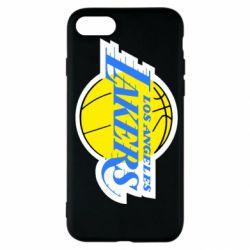Чехол для iPhone SE 2020 Los Angeles Lakers