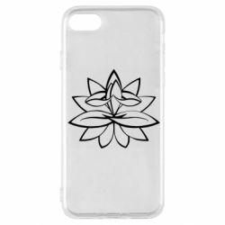 Чохол для iPhone SE 2020 Lotus yoga