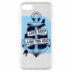 Чехол для iPhone SE 2020 Love deep like the sea
