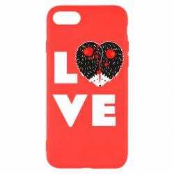 Чохол для iPhone SE 2020 LOVE hedgehogs