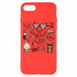 Чохол для iPhone SE 2020 Love is in the air