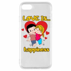 Чохол для iPhone SE 2020 love is...happyness