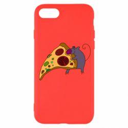 Чехол для iPhone SE 2020 Love Pizza 2