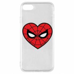 Чохол для iPhone SE 2020 Love spider man
