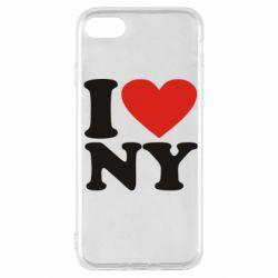 Чохол для iPhone SE 2020 Люблю Нью Йорк