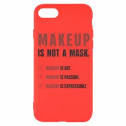 Чехол для iPhone SE 2020 Make Up Is Not A Mask
