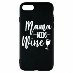 Чехол для iPhone SE 2020 Mama need wine