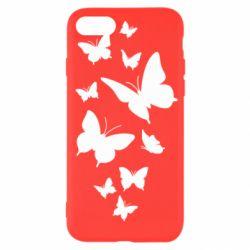 Чохол для iPhone SE 2020 Many butterflies
