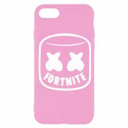 Чохол для iPhone SE 2020 Marshmello and Fortnite