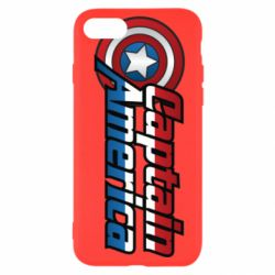 Чохол для iPhone SE 2020 Marvel Captain America