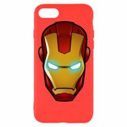 Чехол для iPhone SE 2020 Маскаа Железного Человека