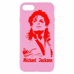 Чехол для iPhone SE 2020 Майкл Джексон