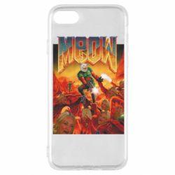 Чехол для iPhone SE 2020 Meow Doom