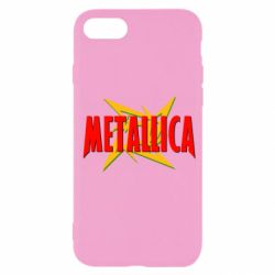 Чехол для iPhone SE 2020 Metallica Logo