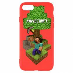 Чохол для iPhone SE 2020 Minecraft Steve