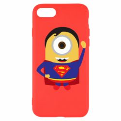 Чохол для iPhone SE 2020 Minion Superman